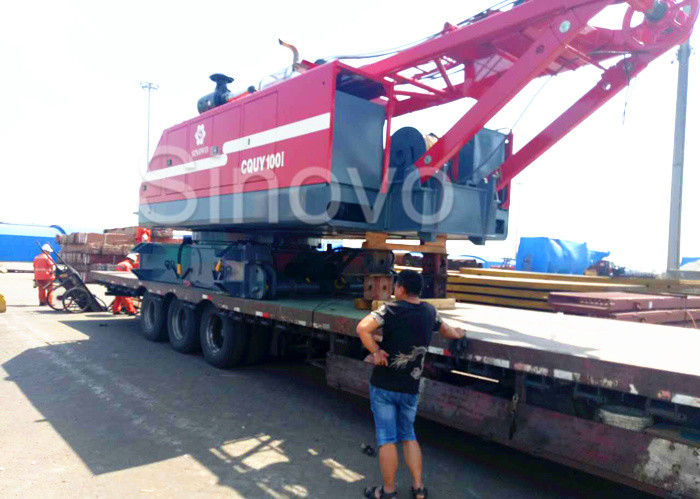 Mobile Hydraulic Crane With Large Load Capacity And The Length Of Standard Boom is 16-73m