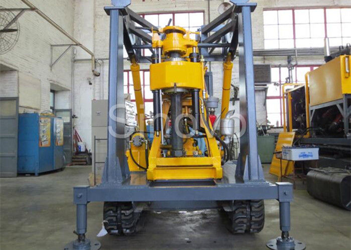 Yellow Spindle Crawler Core Drilling Rig Drilling Diameter 75 - 800mm