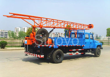 Portable Mobile Core Drilling Equipment, Drill Depth 100m Truck Mounted Drilling Rig